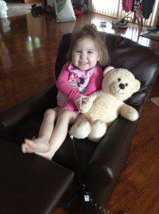3 yr old Paige Colmer