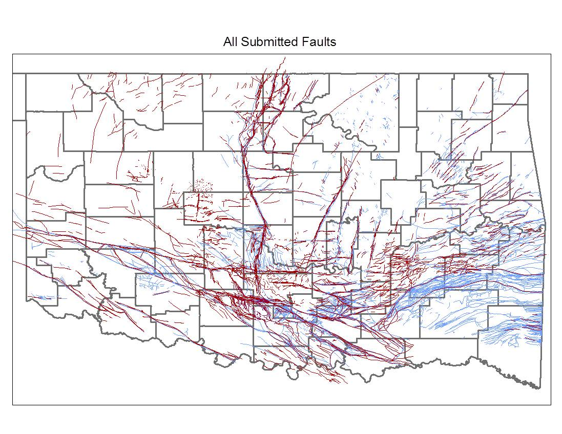 Oklahoma Fault Line Map | compressportnederland